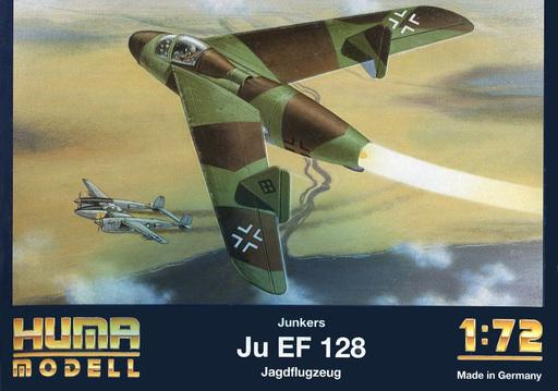 買取】1/72 Junkers Ju EF 128 J...