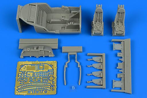 【新品】プラモデル 1/48 A-37A ドラゴンフライコックピットセット トランぺッター用 ディティールアップパーツ [ARS4699]
