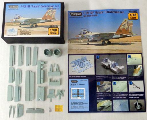 """【中古】プラモデル 1/48 F-15I IDF """"Ra'am"""" -イスラエル国防軍 F-15I """"Ra'am""""- Conversion set ディティールアップパーツ [WP48085]"""