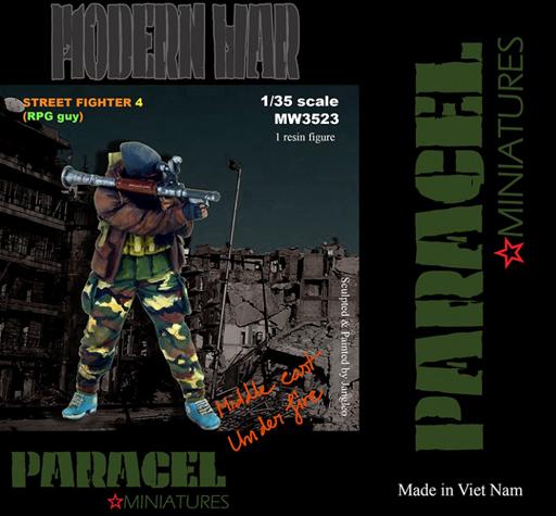 【新品】プラモデル 1/35 現用 市街戦の戦士 4(RPG男) [MW3523]