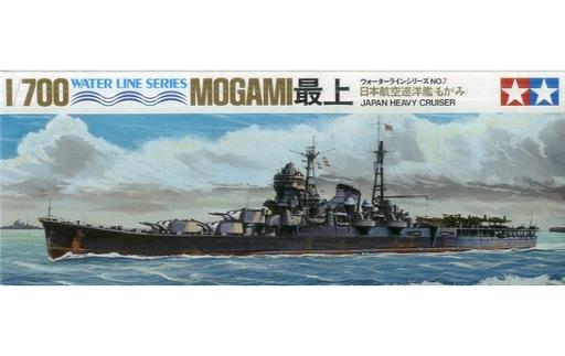 【中古】プラモデル 1/700 日本航空巡洋艦 最上 「ウォーターラインシリーズ No.7」 ディスプレイモデル [WL.C007]
