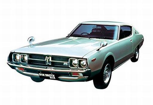 【新品】プラモデル 1/24 ニッサン GC111 スカイラインHT2000GTX-E・S '76 「ザ・モデルカーシリーズ No.51」 [53515]