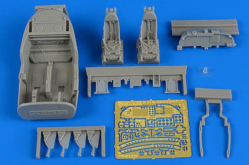 【新品】プラモデル 1/48 A-37B ドラゴンフライ コックピットセット モノグラム用 ディティールアップパーツ [ARS4720]