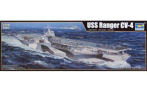 【新品】プラモデル 1/350 アメリカ海軍 航空母艦 CV-4 レンジャー [05629]