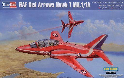 【新品】プラモデル 1/48 イギリス空軍 レッドアローズ ホークT.1/1A 「エアクラフトシリーズ」 [81738]