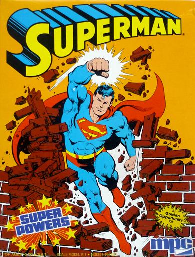 【中古】プラモデル SUPERMAN 「スーパーマン」 SUPER POWERS [1-1701]