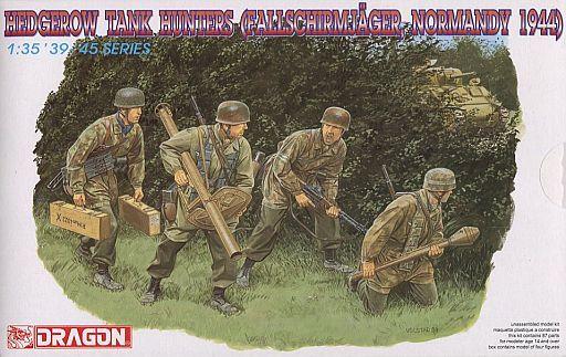 【新品】プラモデル 1/35 WW.II ドイツ軍 降下猟兵 対戦車戦 ノルマンディ 1944 [DR6127]