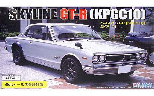 【新品】プラモデル 1/24 KPGC10ハコスカ GT-R 2ドア `71 カーネームプレート付き 「インチアップシリーズ No.259」