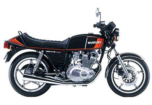【新品】プラモデル 1/12 スズキ GSX400EII 「バイクシリーズ No.52」 [54574]