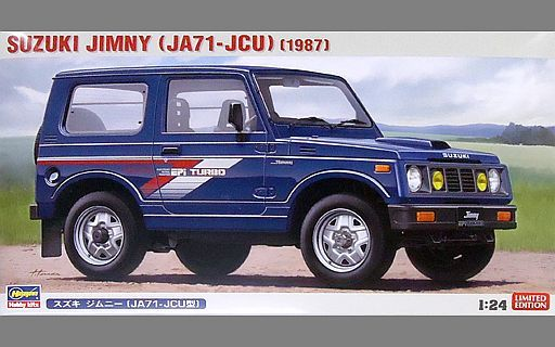 【新品】プラモデル 1/24 スズキ ジムニー'JA71-JCU型' [20323]