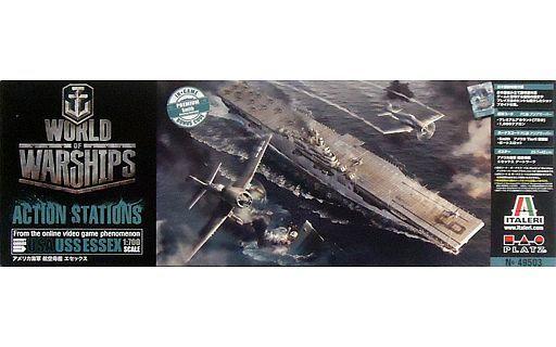 【新品】プラモデル 1/700 アメリカ海軍 航空母艦 エセックス 「World of Warships」 [WOW49503]