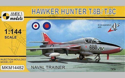 """【中古】プラモデル 1/144 ホーカーハンターT.8B/T.8C """"海軍練習機"""" [MKM14482]"""