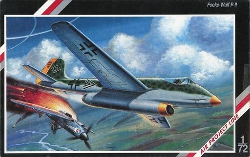 【中古】プラモデル 1/72 Focke-Wulf P II -フォッケウルフ P II- 「AIR PROJECT LINE」 [SH72005]