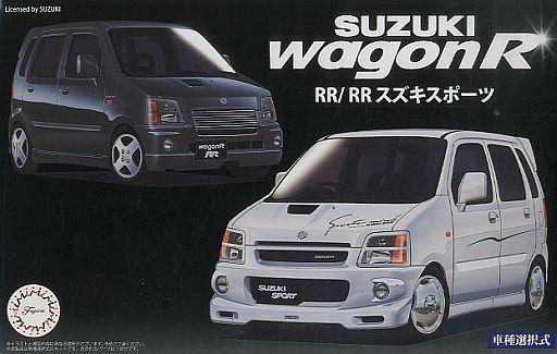 【新品】プラモデル 1/24 スズキ ワゴンR RR/RR スズキスポーツ 「インチアップシリーズ No.45」