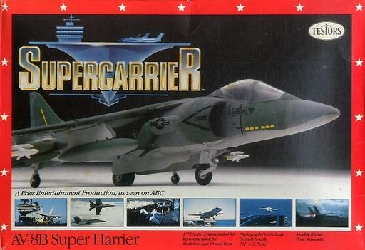 【中古】プラモデル 1/72 AV-8B Super Harrier 「SUPER CARRIER」 [285]