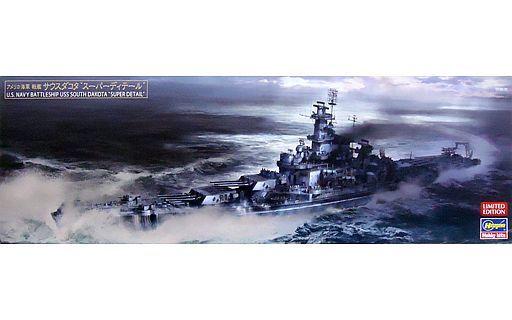 """新品プラモデル 1/700 アメリカ海軍 戦艦 サウスダコタ """"スーパー ディテール"""" [30048]"""