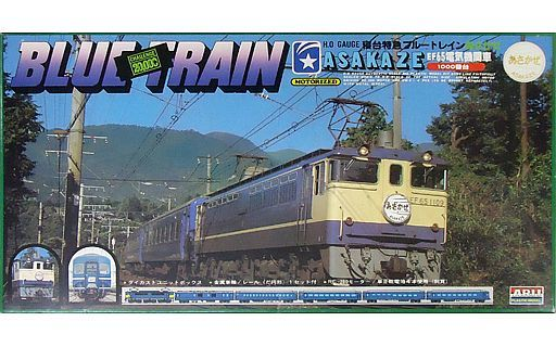【中古】プラモデル 1/80(HOゲージスケール) EF65 電気機関車1000番台 寝台特急あさかぜ 「ブルートレインシリーズ」 モーターライズキット [AR-680]