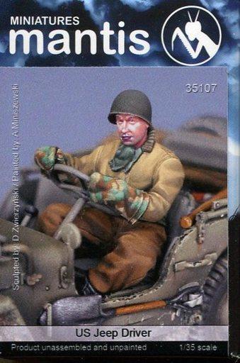 【新品】プラモデル 1/35 WWII米 ジープドライバー [Man35107]
