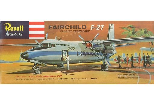 【中古】プラモデル FAIRCHILD F-27 -フェアチャイルド F-27- [H-297]