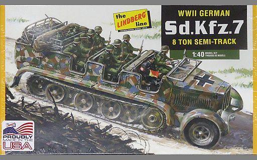 【新品】プラモデル 1/40 WW.II ドイツ軍 Sd.Kfz.7 8トンハーフトラック [HL416]