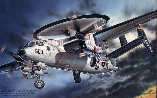 【中古】プラモデル 1/72 グラマン E-2C ホークアイ インディペンデンス 「Q-10」 [31013]