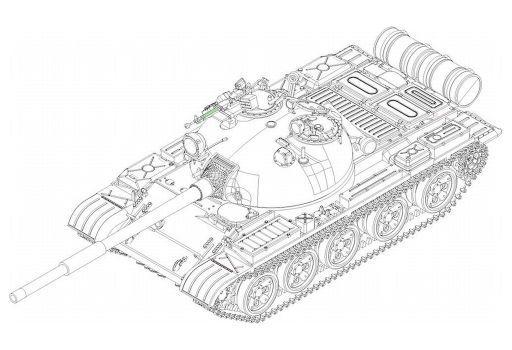 1/72 ソビエト軍 T-62 主力戦車 1972年型 [07147]