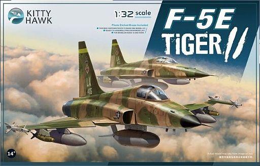 【新品】プラモデル 1/32 F-5E タイガーII [KH32018]