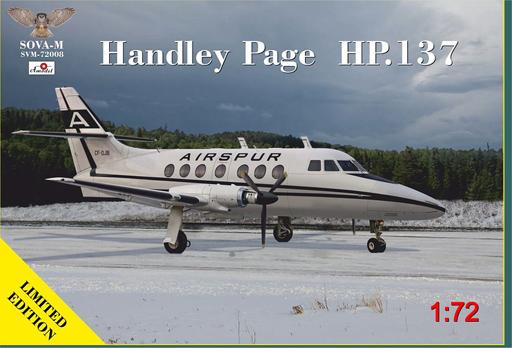 【予約】プラモデル 1/72 ハンドレページ HP.137 ジェットストリーム [SVM72008]