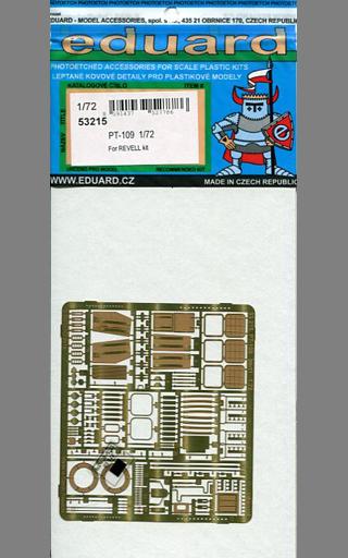 【新品】プラモデル 1/72 PT-109 レベル用 エッチングパーツ [EDU53215]