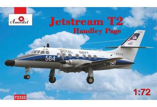 【予約】プラモデル 1/72 ハンドレペイジ・ジェットストリーム T2 英海軍クルートレーナー [AMM72332]