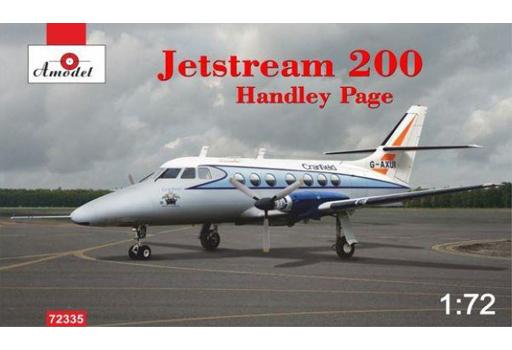 【予約】プラモデル 1/72 ハンドレペイジ・ジェットストリーム 200 双発ビジネス機 [AMM72335]