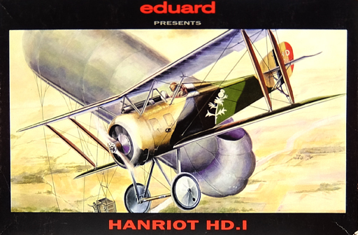 1/48 HANRIOT HD.I -ハンリオット HD.I- [8018]