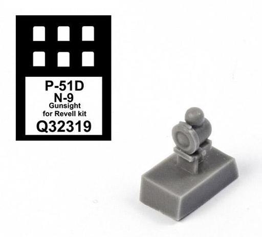 【予約】プラモデル 1/32 P-51D マスタング N-9照準器 レベル用 ディティールアップパーツ [CMKQ32319]