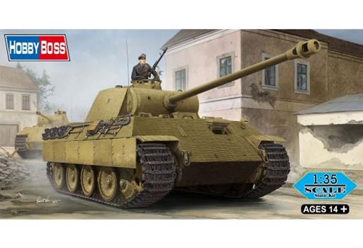 【新品】プラモデル 1/35 ドイツ中戦車パンサーA型 「ファイティングヴィークルシリーズ」 [84506]