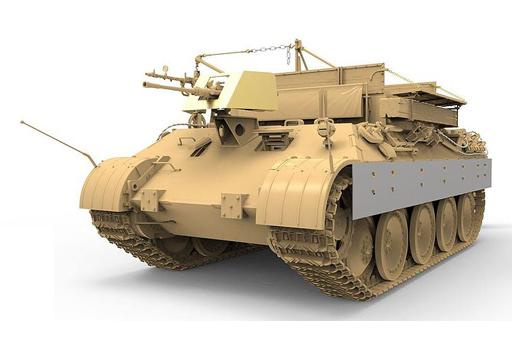 【予約】プラモデル 1/35 ドイツ戦車回収車 Sd.Kfz.179 ベルゲパンターA型 [MENSS-015]