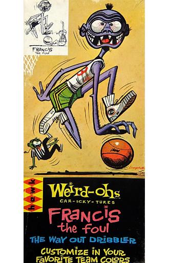 【中古】プラモデル Francis the foul 「Weird-Ohs -ウィアード・オー-」 [535]