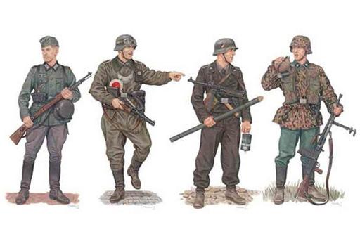 【予約】プラモデル 1/35 WW.II ドイツ軍 西への進撃 西部戦線1940 w/ディテールアップパーツ [DR6703EP]