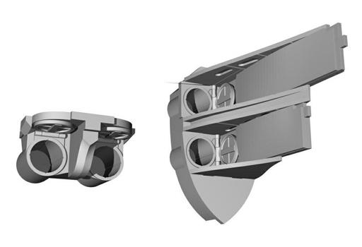 【予約】プラモデル 1/72 独Uボート タイプIX 魚雷発射管・開状態 レベル用 ディティールアップパーツ [CMKN72010]