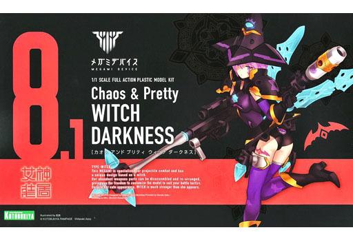 1/1 Chaos & Pretty ウィッチ DARKNESS 「メガミデバイス」 [KP502]