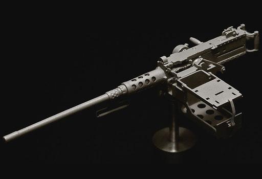 1/35 WWII 米 M2重機関銃 初期型M23 ガンマウント付き レジンキャストキット [C-025]