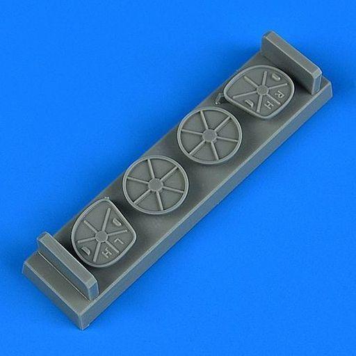Quick Boost(クイックブースト) 新品 プラモデル 1/48 A-37 ドラゴンフライ FODカバー トランぺッター用 ディティールアップパーツ [QIC48926]