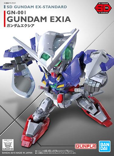 BANDAI SPIRITS 新品 プラモデル GN-001 ガンダムエクシア 「機動戦士ガンダム00(ダブルオー)」 SDガンダム EXスタンダード 003