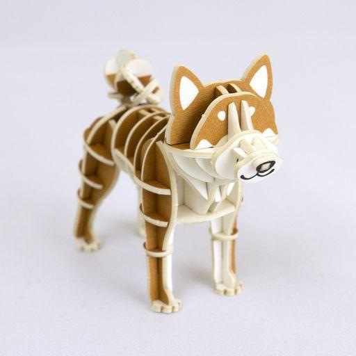 Azone(エーゾーン) 新品 プラモデル 柴犬 ペーパーアート 「si-gu-miプラスシリーズ」