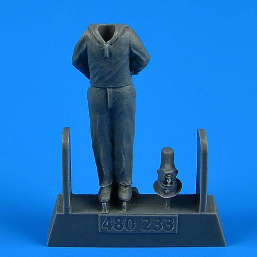 Aero Bonus(エアロボーナス) 新品 プラモデル 1/48 WW.II ドイツ海軍 Uボート乗組員 注目! 5 トランぺッター用 ディティールアップパーツ [ARB480233]