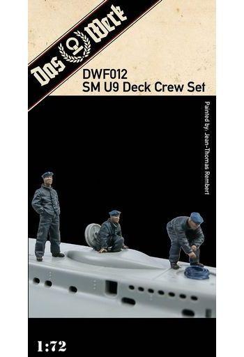 Das Werk(ダスヴェルク) 予約 プラモデル 1/72 WW.I ドイツ Uボート SM U9用 甲板クルーフィギュアセット 3体 [USCDWF012]