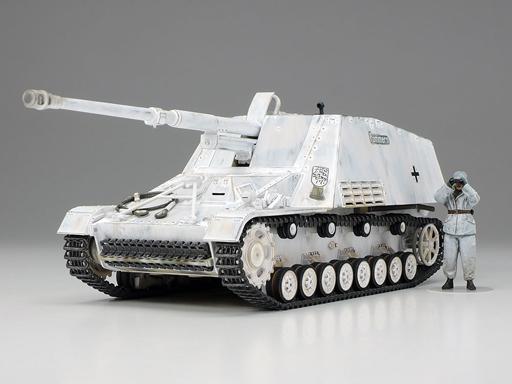 1/48 ミリタリーミニチュアシリーズ No.100 ドイツ 重対戦車自走砲 ナースホルン 32600