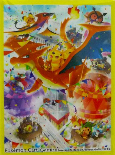 【中古】サプライ ポケモンカードゲーム デッキシールド 『ポケモンセンターメガトウキョーOP』 ポケモンセンター限定