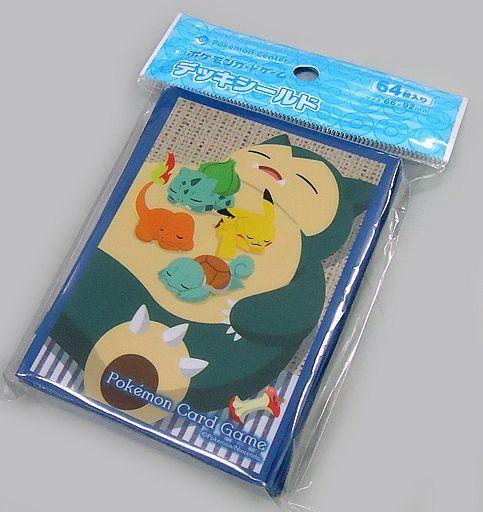 【中古】サプライ ポケモンカードゲーム デッキシールド カビゴン ポケモンセンター限定