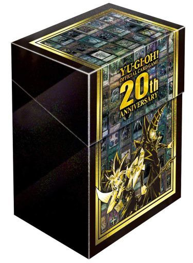 [単品] 武藤遊戯&ブラック・マジシャン 特製カードケース 「遊戯王OCGデュエルモンスターズ 20th ANNIVERSARY SET」 同梱品