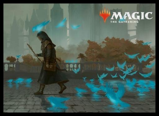 マジック プレイヤーズカードスリーブ ラブニカのギルド つぶやく神秘家